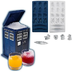 doctor cube tray tardis-shaped bucket cool