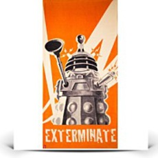 Specials Doctor Who Dr Dalek Exterminate Cotton