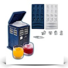 Specials Ice Cube Tray And Tardisshaped Ice Bucket