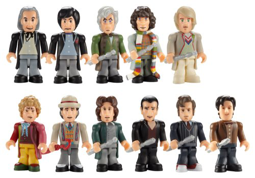Doctor Who Character Building The Eleven Doctors Micro Figure Set
